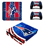 Vanknight Vinyl Decal Skin Stickers for PS4 Slim Playstaion 2 Controllers