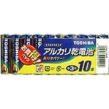 東芝 アルカリ乾電池 単3形1パック10本入  LR6L 10MP