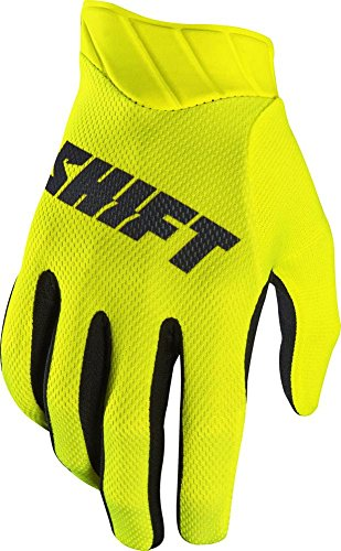 2017 Shift Black Label Air Mainline Gloves-Flo Yellow-XL (Shift Glove)