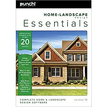 amazon com punch home landscape design essentials v18