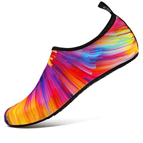 VIFUUR Water Sports Unisex/Kids Shoes Colorful - 7.5-8.5 W US / 6-7 M US (38-39) from VIFUUR