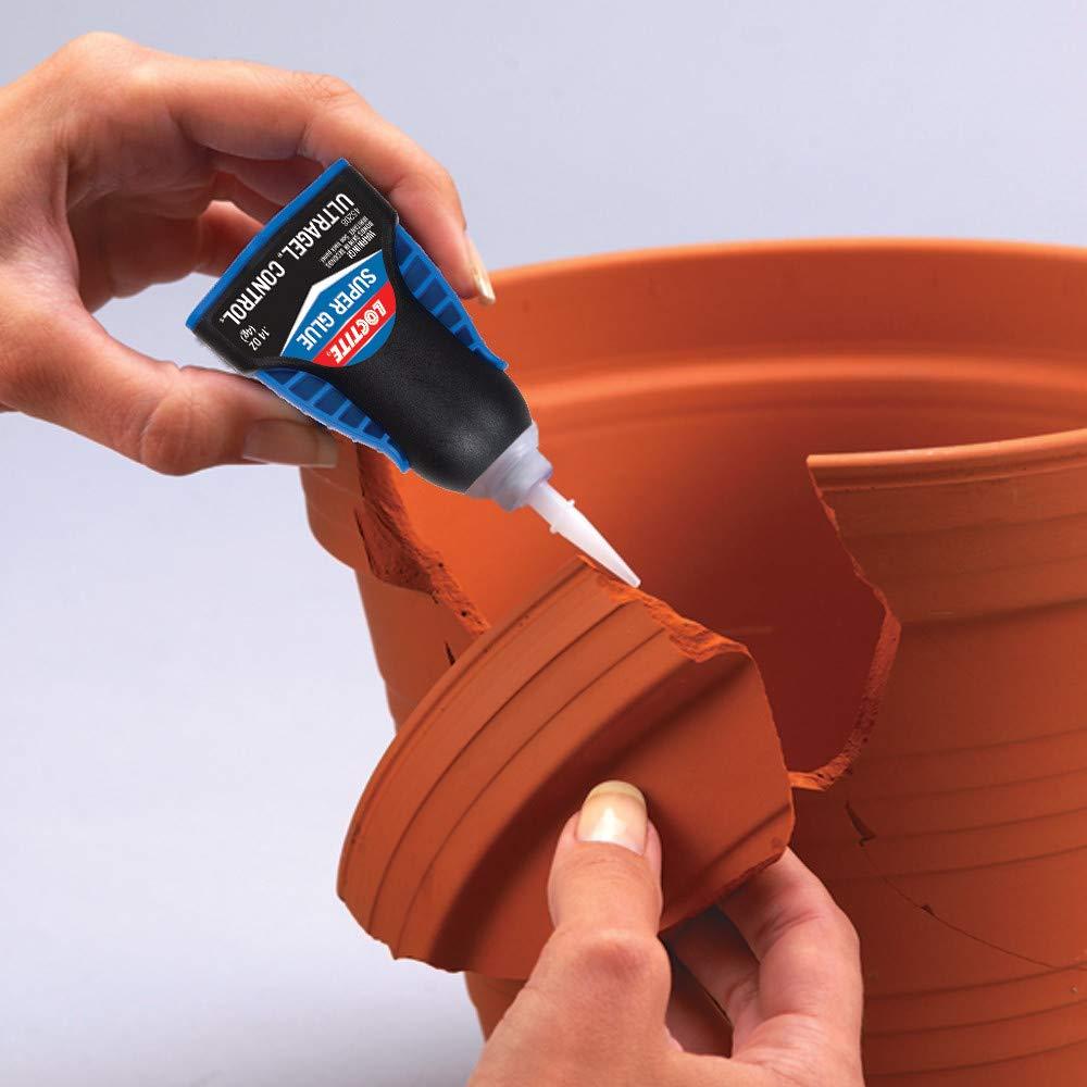 6 Loctite Super Glue Ultra Gel Flexible Resistente Al Agua non Goteo Energía Inmediata