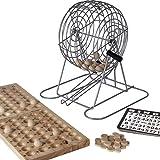 Bello Games New York, Inc. Alphabet City Complete Bingo Set 9'' Cage