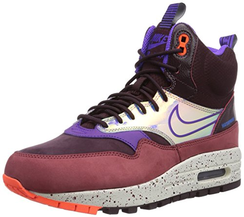 discount low shipping deals sale online Nike Women's Air Max 1 MID SneakerBoot WP Boots Deep Burgandy/Cedar/Hyper Crimson/Hyper Grape sjf1p08N