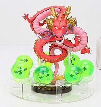 MSC Toy Figura Dragon Shenron Rojo PVC Dragon Ball Z + 7 ...