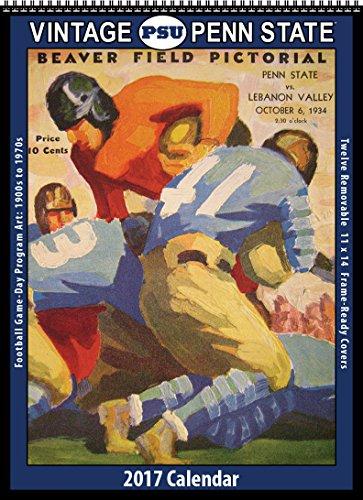 2017 Vintage Penn State Nittany Lions Football Calendar