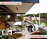 D3D Wireless 720P HD Outdoor Waterproof IP Wifi CCTV Outdoor Security Camera (Support upto 64 GB Micro SD card) Model:D8017X
