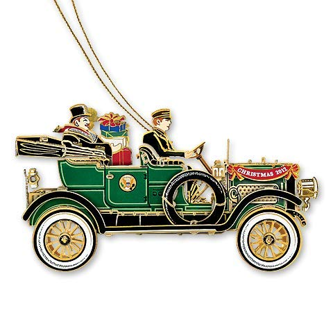 (2012 White House Christmas Ornament, The First Presidential Automobile)