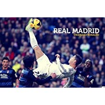 Real Madrid Cristiano Ronaldo Poster 12x18 in Paper Print(12 inch X 18 inch, Rolled)