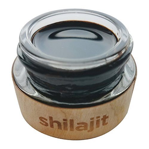 Authentic Himalayan Shilajit by Holistic Bin - 60 servings - 100% Organic, Natural, Cold Filtered Black Platinum Resin - Provides Immune Boost, Arthritis Joint Pain Relief - Aids Natural Weight Loss