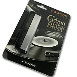 CO-RODE Anti Static Carbon Fiber LP Record Clean Brush for Vinyl