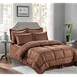 Tuweep Putman Bamboo Design 8 Piece Comforter Set   Collection COMF-18202757