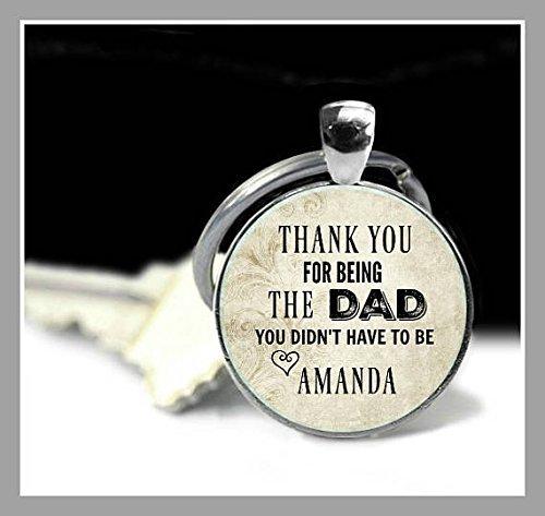 Llavero Paso Dad, regalo para papá, padre de la madre ...