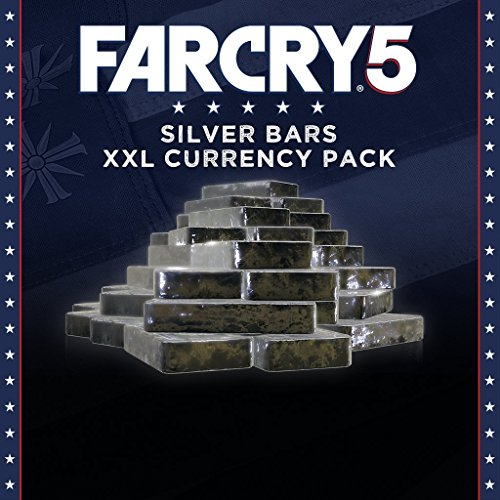 FAR CRY 5 - XXL SILVER BARS ADD-ON - 7250 CREDITS - PS4 [Digital Code] by Ubisoft