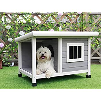 Image of Petsfit Dog House, Dog House Outdoor Pet Supplies