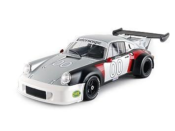 Norev - 187422 - Porsche 911 RSR Turbo 2.1 - Daytona 1974 - Escala 1/18 - Plata/Negro/Rojo: Amazon.es: Juguetes y juegos