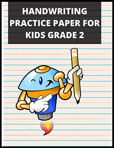 Handwriting Practice Paper for Adults: Handwriting Practice Paper for Kids: Bumper 120 -Page Dotted Line Notebook (Handwriting Paper Notebook / Blank … Kids) – Handwriting Practice Paper Notebook