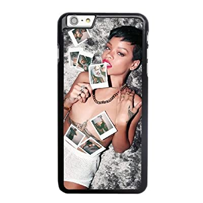 Generic Rihanna World Cup Cover Case for Apple iPhone 6/6S plus (5.5 inch) Black Printed Cell Phone Case KLN60818