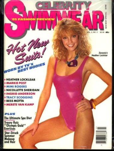 Celebrity Swimwear (April 1985) (Dynasty Heather Locklear)