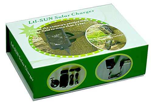 Ltl Acorn Outdoor Sports Solar Charger 2000mAh Mobile Power Bank for Hunting Trail Camera by Ltl Acorn (Image #8)