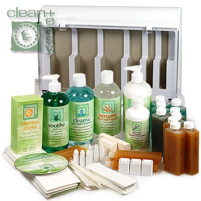 Clean+Easy Waxing Spa Kit Clean And Easy Wax Products