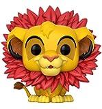 El Rey León - Figura de vinilo Simba, coleccion Disney (Funko 20094)
