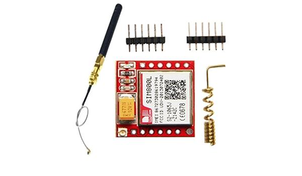 SODIAL (R) SIM800L GPRS módulo de GSM Quad Band ...