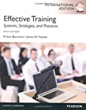 img - for Effective Training by Blanchard, P. Nick, Thacker, James (2012) Paperback book / textbook / text book