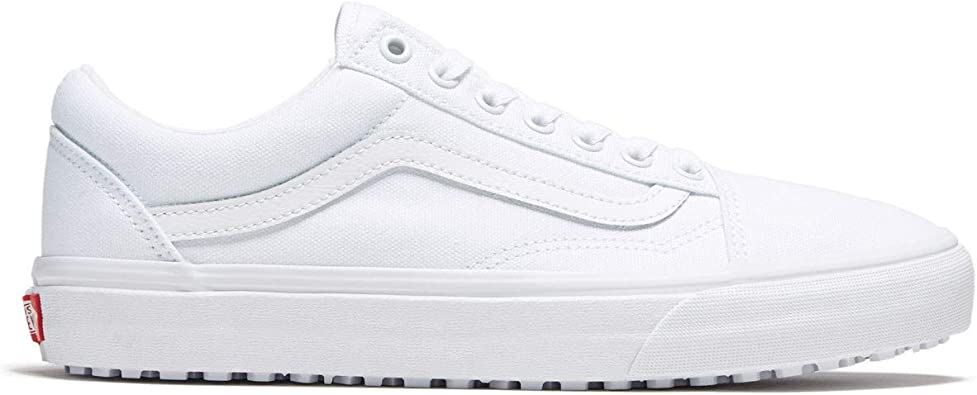 Vans Old Skool Men Trainers White: Amazon.fr: Chaussures et Sacs