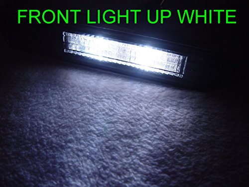 DEPO 2004-2008 Acura TL White LED Smoke Side Marker Set (x4 Piece, Front + ()