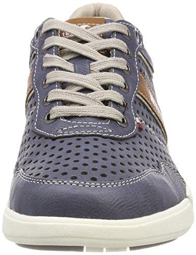 Mustang Herren 4122-301-800 Sneaker Blau (Dunkelblau)