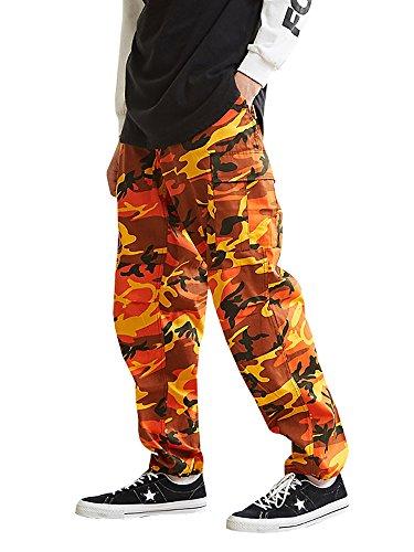 Orange Camo Pants - 4