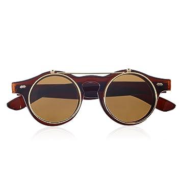 Fascigirl Gafas de Sol para Mujer, Steampunk Gafas Gafas ...