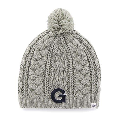 NCAA Georgetown Hoyas Women's Kiowa Beanie Knit Hat, - Georgetown Gear
