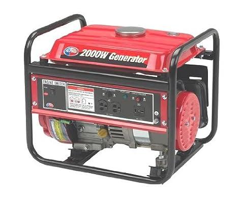 All Power America APG3014, 1400 Running Watts/2000 Starting Watts, Gas Powered Portable Generator (Portable 2000w Generator)