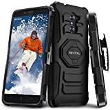 zte imperial 2 cases - Evocel ZTE Grand X Max 2 / ZTE Max DUO / ZTE Imperial Max [New Generation] Rugged Holster [Kickstand][Belt Clip] For ZTE Grand X Max 2/ ZTE Max DUO/ ZTE Imperial Max/ ZTE Kirk, Black