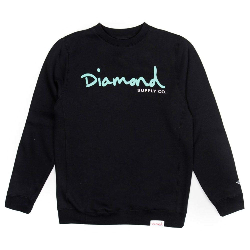 Diamond Supply Co. OG Script Core Sweatshirt schwarz