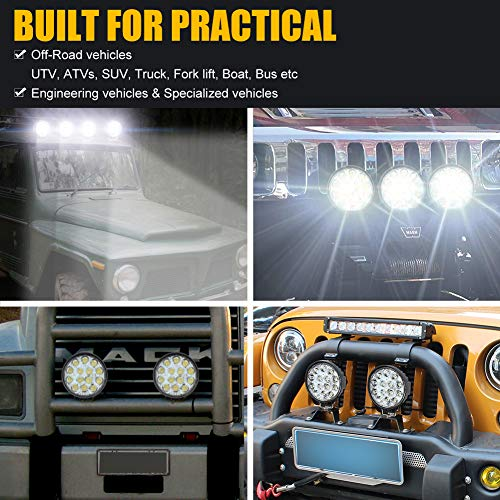Round Offroad Led lights, 4.5