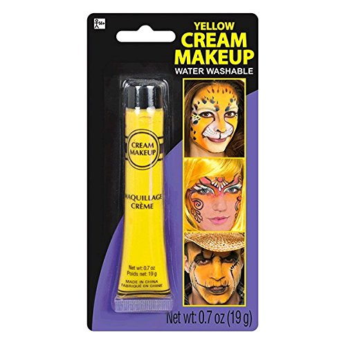 amscan Yellow Cream - Makeup Costume Accessory