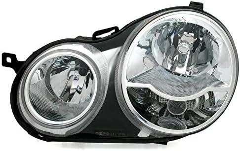 AD Tuning Halogen Scheinwerfer, H1 / H7, inkl. LWR Stellmotor, Linke Seite, Fahrerseite