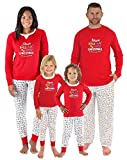 Sleepyheads Family Matching Holly Jolly Christmas Lights Pajama PJ Sets - Mens (SHM-5010-M-XL)