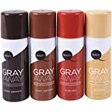 Gray Away Root Concealer- Black To Deep Medium Brown