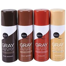 Gray Away Root Concealer- Black To Deep Medium Brown