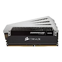 Corsair DOMINATOR® Platinum Series 32GB (4 x 8GB)  DDR4 2666 (PC4-21300) 2666MHzC16 memory kit for DDR4 Systems (CMD32GX4M4A2666C16)