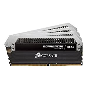 Corsair DOMINATOR Platinum Series 32GB (4 x 8GB) DDR4 DRAM 2400MHz C14 memory kit for DDR4 Systems