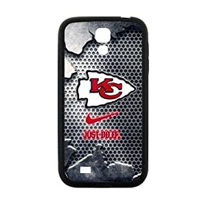 Hoomin Kansas City Chiefs Fashion Pattern Samsung Galaxy S4 I9500 Cell Phone Cases Cover Popular Gifts(Laster Technology)