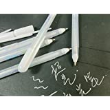 Vann92(TM) Sakura Jelly Roll White Gel Pen - Highlight liner for Art Marker Design Comic/Manga Painting (0.4mm)