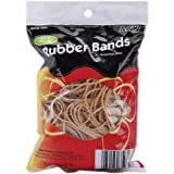 HQ Advance Products Rubber Bands, Assorted Size, Natural Color (35070.P)