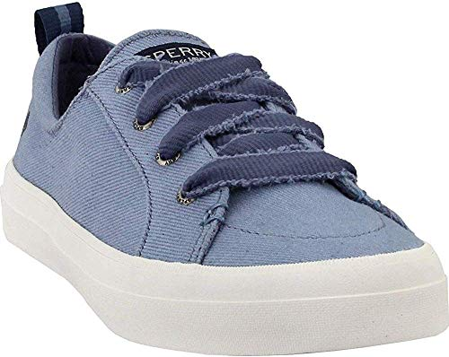 Sperry Women's Crest Vibe/Discontinued Sneaker, Blue VNTG Twill, 5.5