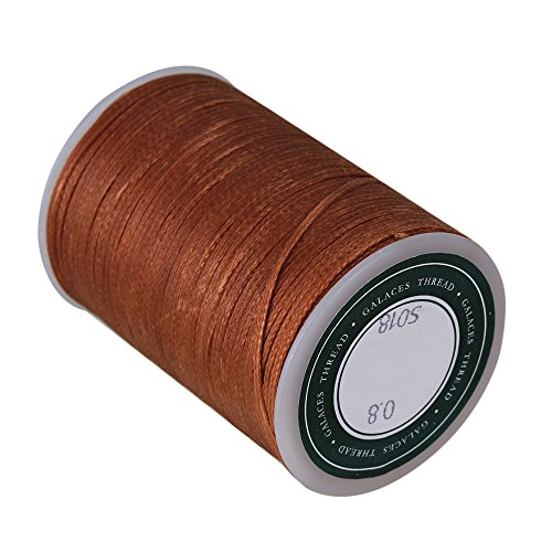 leather sewing thread brown - 6